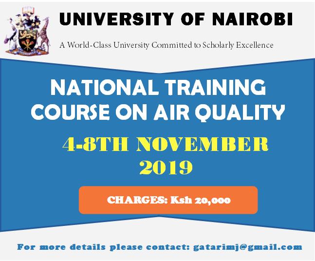 Air Quality Training course